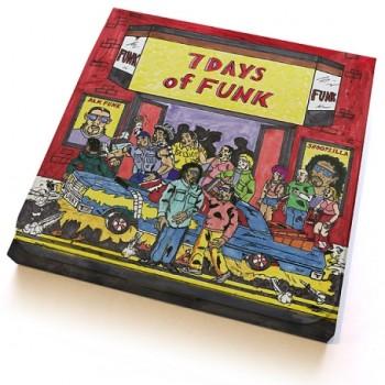 7 DAYS OF FUNK (Dam Funk & Snoopzilla)  / 7 DAYS OF FUNK (45 BOX SET)