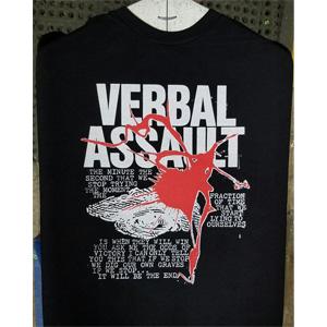 VERBAL ASSAULT / ヴァーバルアサルト / NEVER STOP (Sサイズ)