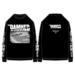 DAMNED / 映画 THE DAMNED「地獄に堕ちた野郎ども」x RUDE GALLERY-TEE(XSサイズ)