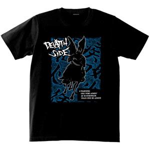 DEATH SIDE / WARNING T-SHIRTS BLACK(XLサイズ)