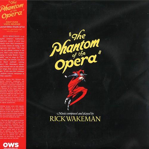 RICK WAKEMAN / リック・ウェイクマン / THE PHANTOM OF THE OPERA: LIMITED RED VINYL - 180g LIMITED VINYL