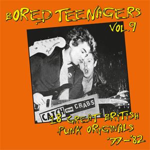 VA (BIN LINER RECORDS) / BORED TEENAGERS, VOL. 9 (LP)