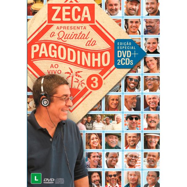 V.A. (ZECA APRESENTA QUINTAL DO PAGODINHO) / オムニバス / ZECA PAGODINHO APRESENTA QUINTAL DO PAGODINHO 3 (2CD+DVD)