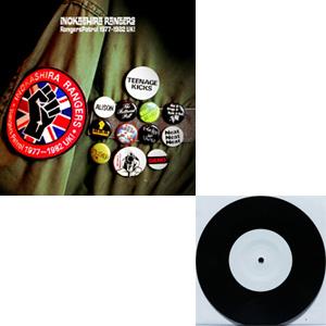 井の頭レンジャーズ / Rangers Patrol 1977~1982 UK!7インチ付きセット