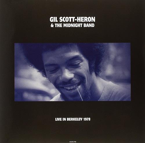 GIL SCOTT-HERON / ギル・スコット・ヘロン / LIVE IN BERKELEY, CA JANUARY 16, 1978 KSAN-FM (LP)