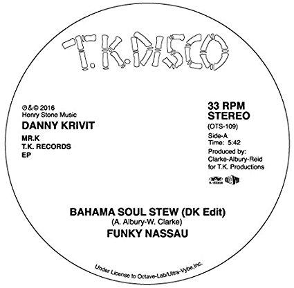 DANNY KRIVIT / ダニー・クリヴィット / MR.K T.K. RECORDS EP