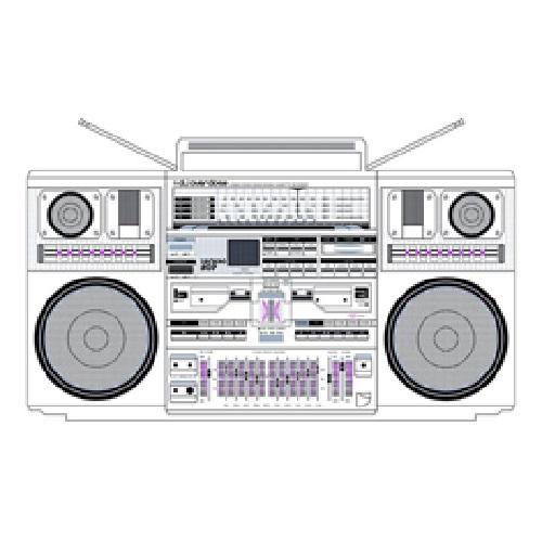 DJ OVERDOSE / TECHNO HOP(LP)