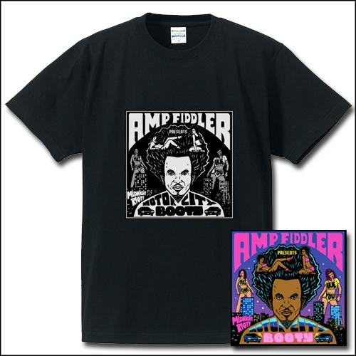 AMP FIDDLER / アンプ・フィドラー / MOTOR CITY BOOTY Tシャツ付きセット(Mサイズ)