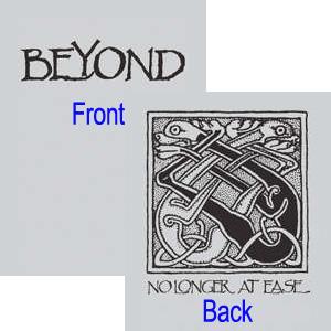 BEYOND (PUNK) / ビヨンド / NO LONGER AT EASE (GREY) Sサイズ