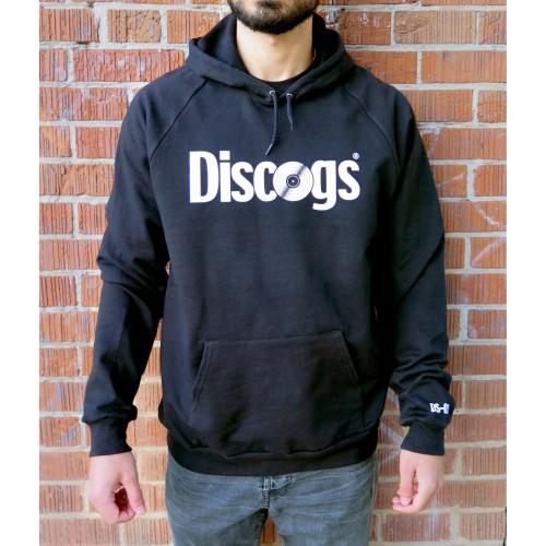 DISCOGS (DISCOGS.COM) / BLACK HOODIE (M)
