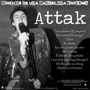 ATTAK / SHIT SA / SONIDOS DE UNA BARCELONA ENFERMA (LP)