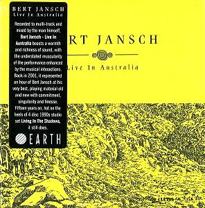 BERT JANSCH / バート・ヤンシュ / LIVE IN AUSTRALIA - REMASTER