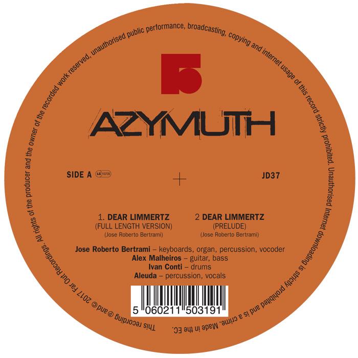 AZYMUTH / アジムス / DEAR LIMMERTZ / MARACANA