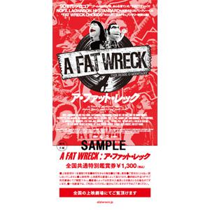 ショーン・M・コロン / A FAT WRECK:ア・ファット・レック