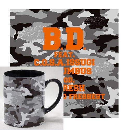 "B.D. / B.D.・ザ・ブラバス / THE TONITE 10 (10""+DVD) ★ディスクユニオン限定マグカップ付セット"
