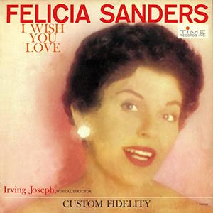 FELICIA SANDERS / フェリシア・サンダーズ / フェリシア・サンダース