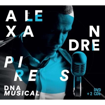 ALEXANDRE PIRES / アレシャンドレ・ピレス / DNA MUSICAL (2CD+DVD)