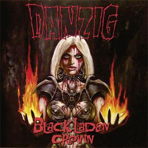 DANZIG / BLACK LADEN CROWN (LP)