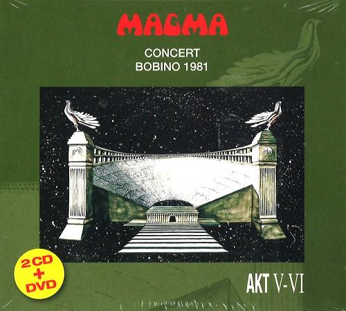 MAGMA (FRA) / BOBINO 1981: CD+DVD