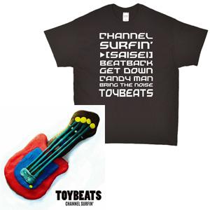 TOYBEATS / CHANNEL SURFIN' Tシャツセット(Mサイズ)