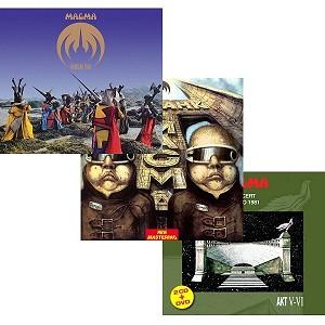 MAGMA (FRA) / マグマ / 『ウルゴンとゴルゴ』『トリスタンとイゾルデ』『ボビノ1981』3タイトルまとめ買いセット