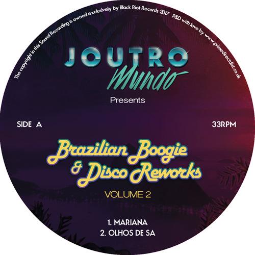 JOUTRO MUNDO / BRAZILIAN BOOGIE & DISCO VOLUME 2 12INCH SAMPLER