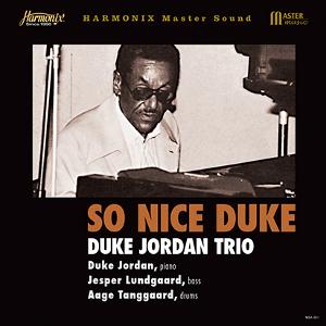 DUKE JORDAN デューク・ジョーダン / So Nice Duke / ソー・ナイス・デューク(LP)