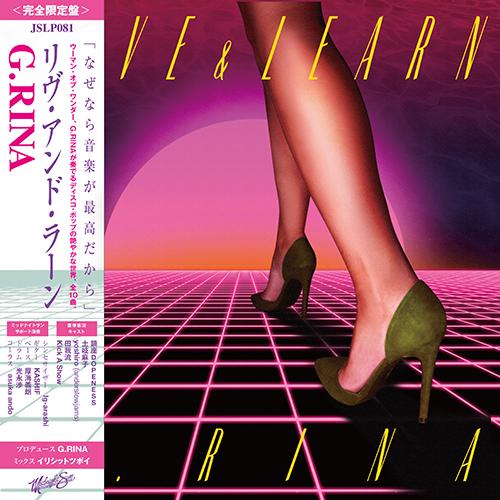 G.RINA / ジーリナ / LIVE & LEARN / リヴアンドラーン
