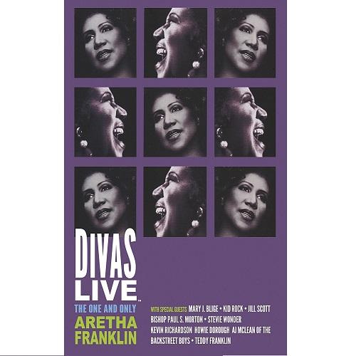 ARETHA FRANKLIN / アレサ・フランクリン / DIVAS LIVE (DVD)