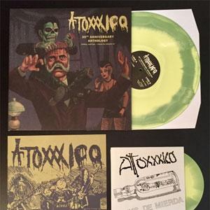 "ATOXXXICO / アトキシコ / DEMOS, RARITIES / PUNKS DE MIERDA (DIE-HARD  SPLATTER VINYL with 7"")"