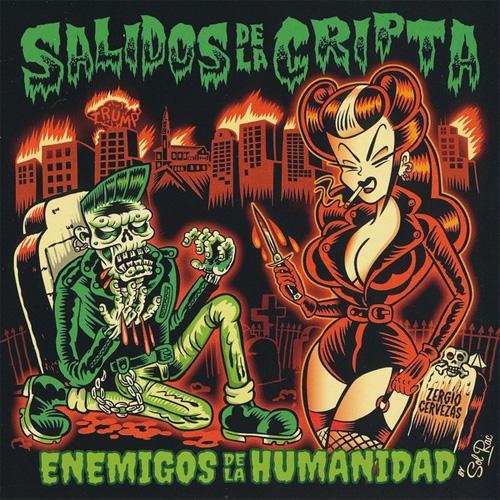 SALIDOS DE LA CRIPTA / ENEMIGOS DE LA HUMANIDAD (LP)