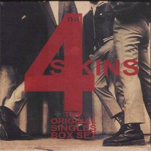 "4 SKINS / フォースキンズ / ORIGINAL SINGLES BOX SET (4*7"")"