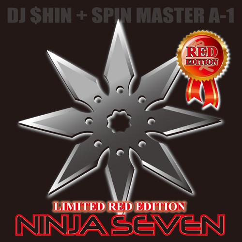 """DJ $hin + Spin Master A-1 / Ninja Seven 7""""(RED)"""