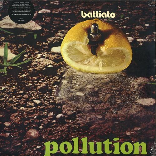 FRANCO BATTIATO / フランコ・バッティアート / POLUTION - 180g LIMITED VINYL