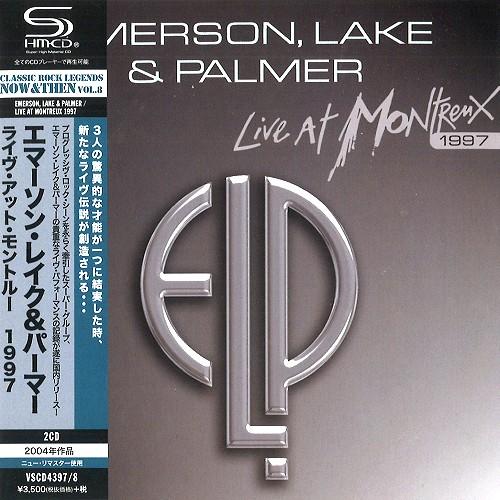EMERSON, LAKE & PALMER / エマーソン・レイク&パーマー / ライヴ・アット・モントルー 1997 - SHM-CD