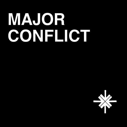 "MAJOR CONFLICT / メジャー・コンフリクト / MAJOR CONFLICT (7"")"