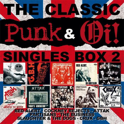 "V.A. / THE CLASSIC PUNK & Oi! SINGLES BOX VOL 2 (10*7"")"