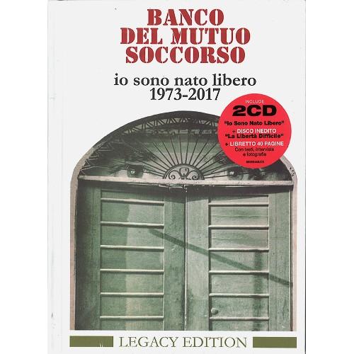 BANCO DEL MUTUO SOCCORSO / バンコ・デル・ムトゥオ・ソッコルソ / IO SONO NATO LIBERO 1973-2017: LEGACY EDITION - REMASTER