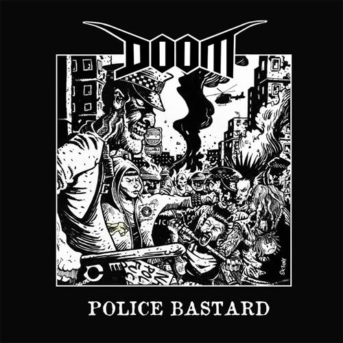 "DOOM (PUNK) / ドゥーム / POLICE BASTARD (7"")"