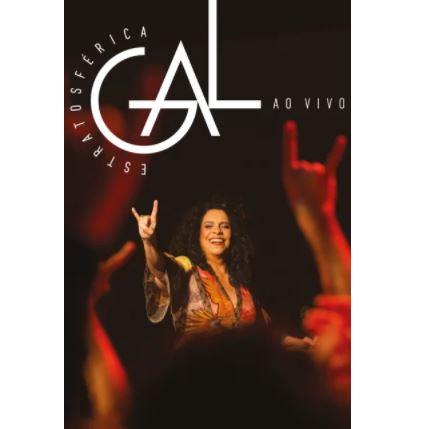 GAL COSTA / ガル・コスタ / ESTRATOSFERICA - AO VIVO (DVD)