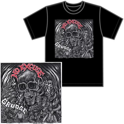 NO EXCUSE / ノーエクスキューズ / GRUDGE Tシャツ付きセット(M)