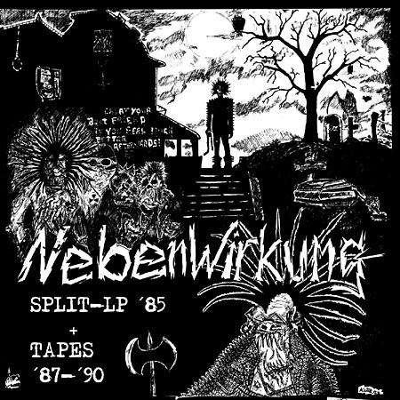 NEBENWIRKUNG / SPLIT-LP '85 & TAPES '87-'90 (LP)