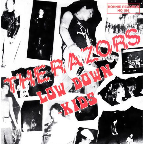 "RAZORS / レイザーズ / LOW DOWN KIDS (7"")"