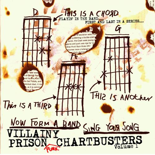 VA (VILLAINY PRISON RECORDS) / VILLAINY PRISON PUNK CHARTBUSTERS