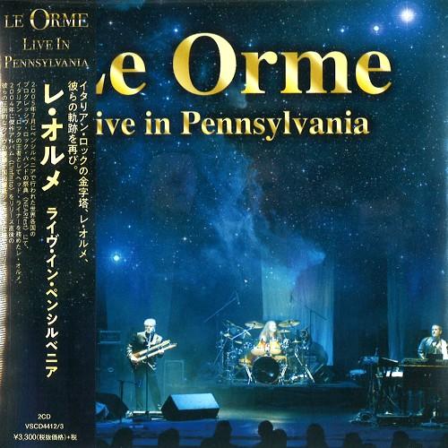 LE ORME / レ・オルメ / LIVE IN PENNSYLVANIA / ライヴ・イン・ペンシルバニア