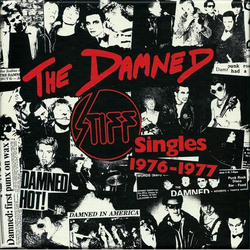 "DAMNED / STIFF SINGLES 1976 - 1977 (7""x5)"