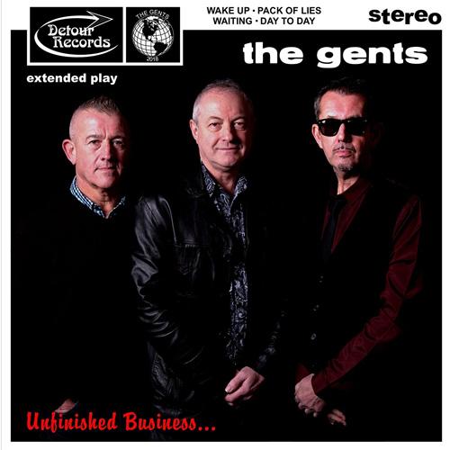 "GENTS (PUNK) / UNFINISHED BUSINESS (7"")"