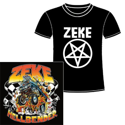 ZEKE / ジーク / HELLBENDER (CD+T-SHIRTS / L)