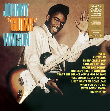JOHNNY GUITAR WATSON / ジョニー・ギター・ワトスン / JOHNNY GUITAR WATSON (LP)