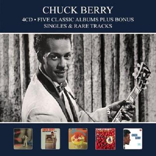 CHUCK BERRY / チャック・ベリー / 5 CLASSIC ALBUMS PLUS (4CD)